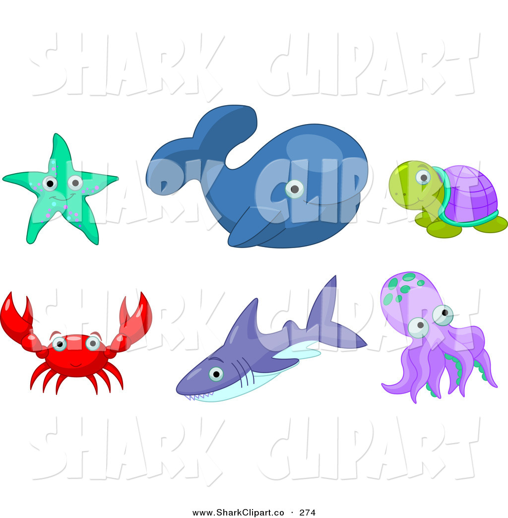 Starfish clipart turtle Clip Whale Art of a