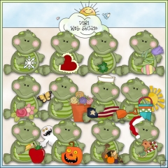 Turtle clipart thanksgiving #4
