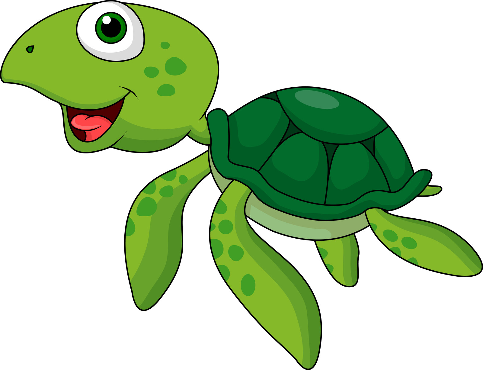 Sea Turtle clipart turtle swimming #1