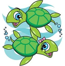 Sea Turtle clipart turtle swimming #2