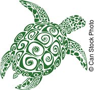 Turtle clipart vector #7
