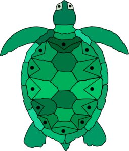 Turtle clipart vector #4