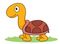Turtle clipart walking #5