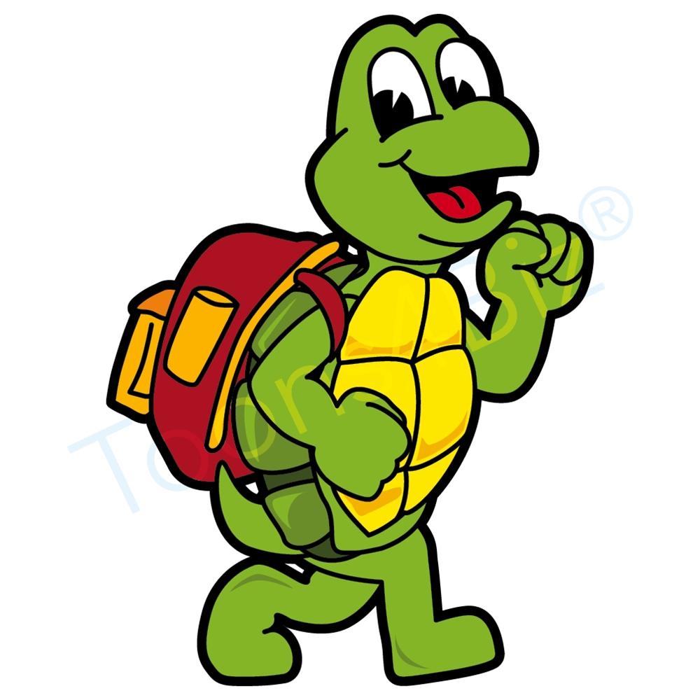 Turtle clipart walking #3