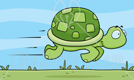 Turtoise clipart fast #5