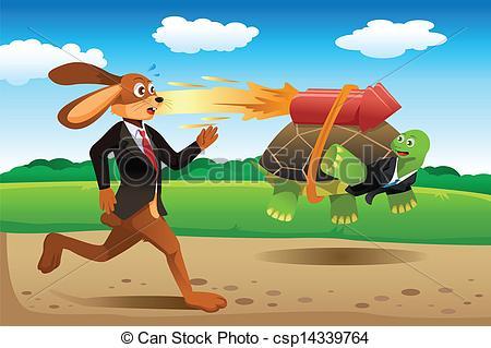Turtoise clipart hare race #7