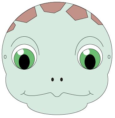 Turtoise clipart mask #13
