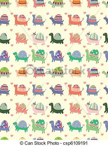 Tortoise clipart pattern #2