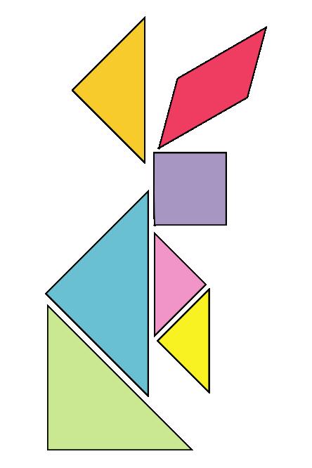 Turtoise clipart tangram #10