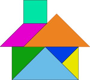 Turtoise clipart tangram #13