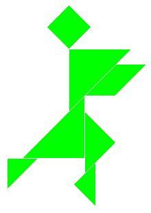 Turtoise clipart tangram #2