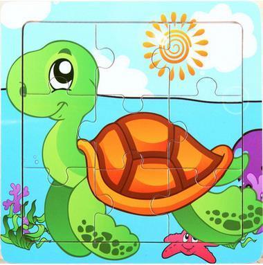 Turtoise clipart tangram #1
