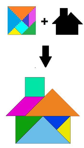 Turtoise clipart tangram #8