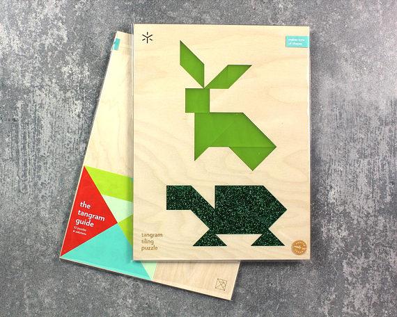 Turtoise clipart tangram #11