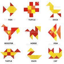 Turtoise clipart tangram #9