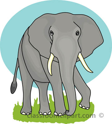 Tusk clipart Elephant Results walking_eephant_5_3612 Search Kb