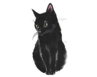 Tuxedo Cat clipart Black Clip Pictures Clipart Hand