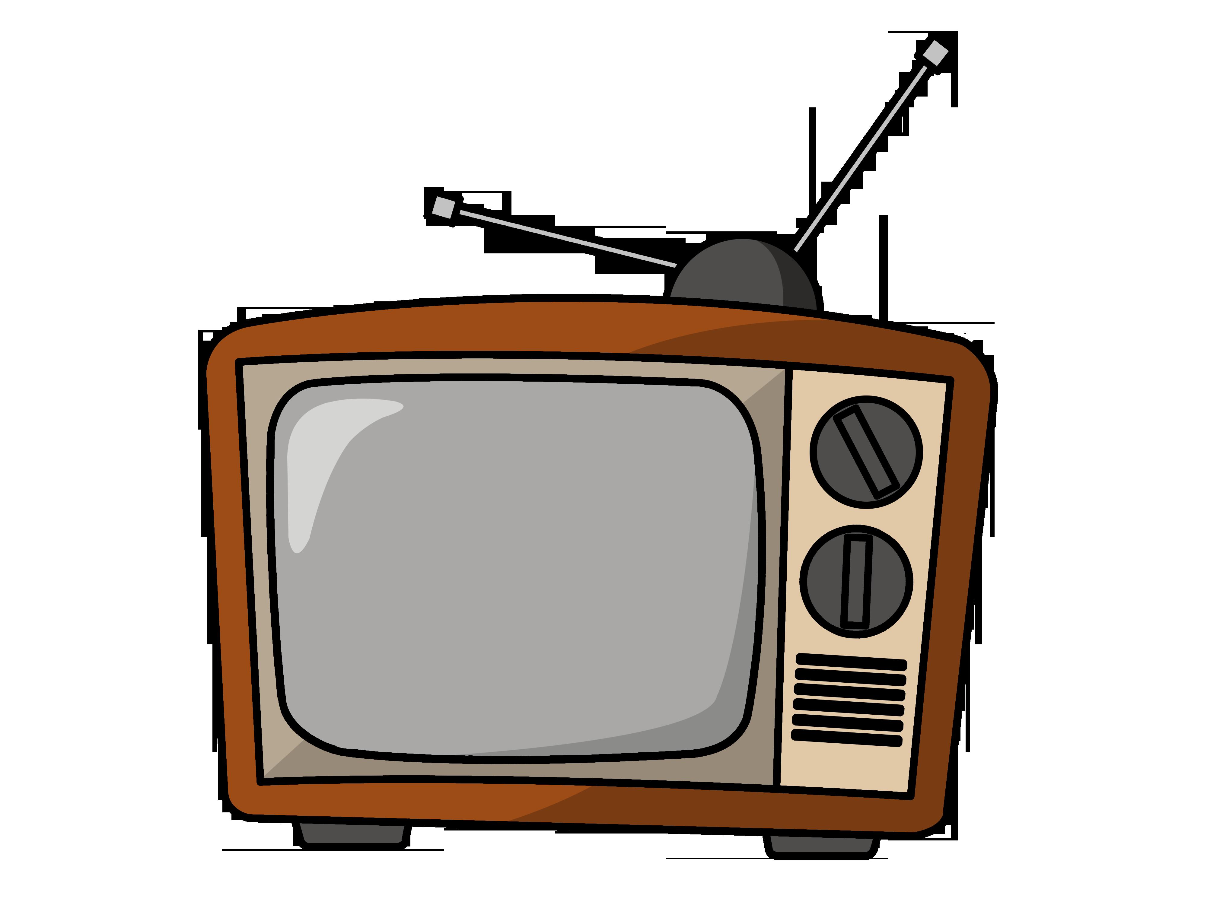 Tv clipart Panda tv Art Clipart Clip