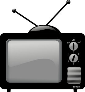 Tv clipart Free tv Clipart Images Tv