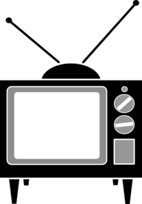 Tv clipart Download Vintage Clipart Tv Clipart