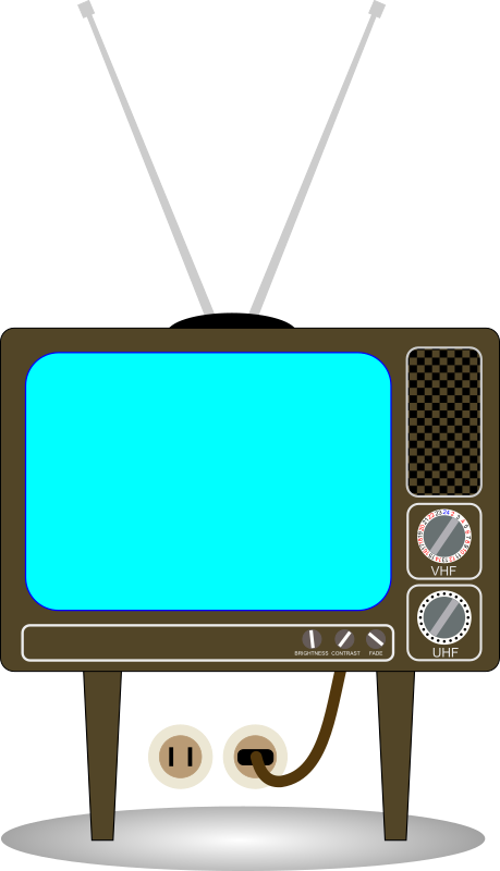 Display clipart tv set Set Domain & Old Art