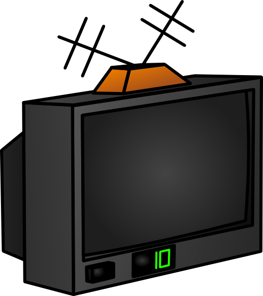 Display clipart tv set At collection Clip clipart com