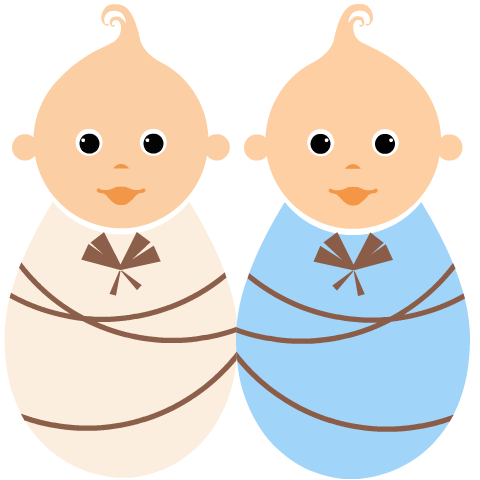 Twins clipart Blog Twins On twins Baby