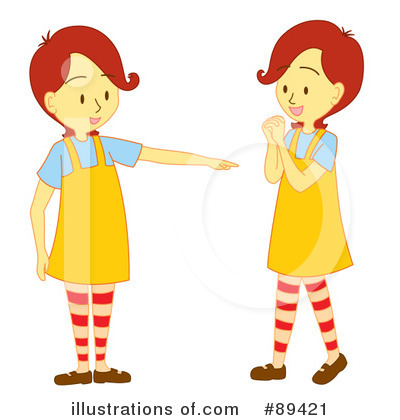 Twins clipart Free Cherie (RF) Twins Illustration