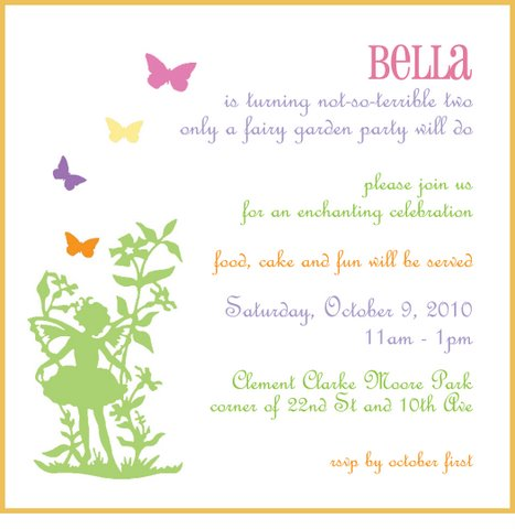 Celebration clipart invitation Clipart Garden Invitation cliparts Bella