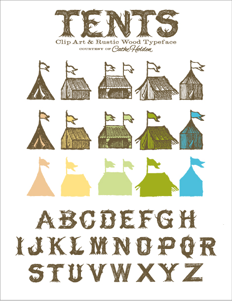 Typeface clipart Art & Share Tent Clip