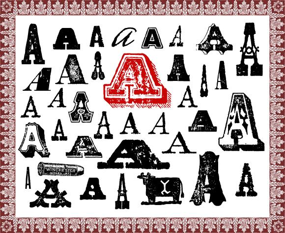 Typeface clipart Clip Art Wild Fonts
