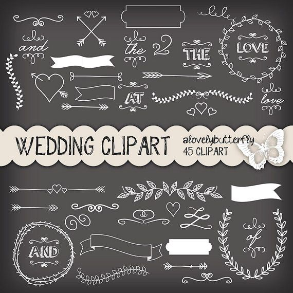 Blackboard clipart science Clipart comercial wedding Wedding Pinterest