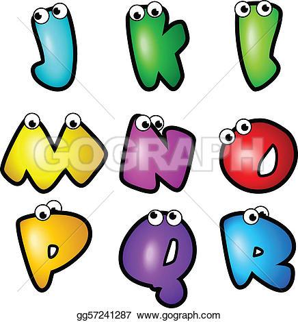 Typeface clipart cartoon Font Type_Letter Collection Cartoon J