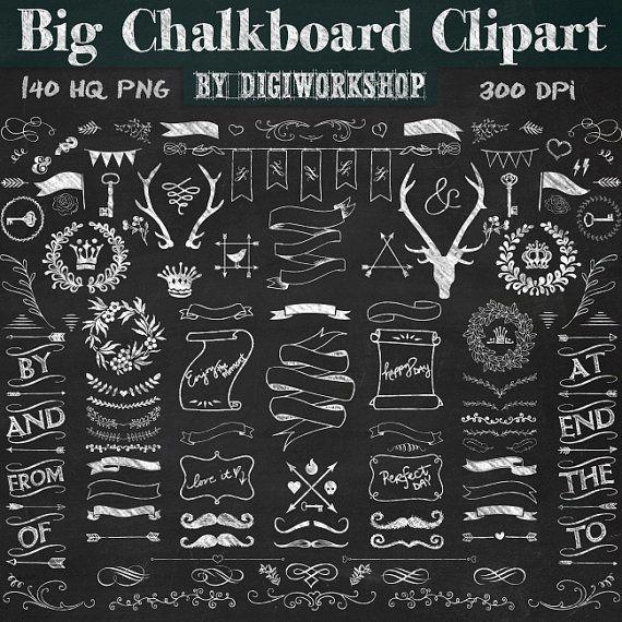 Stare clipart chalkboard #6