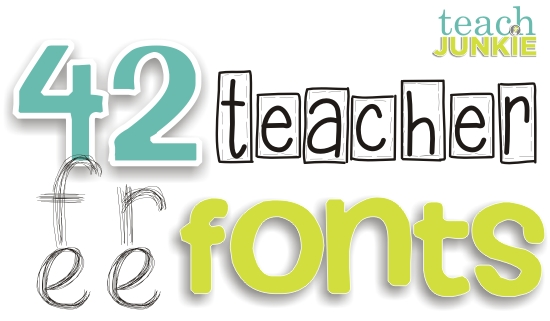 Typeface clipart classroom Fonts Free Junkie on Free
