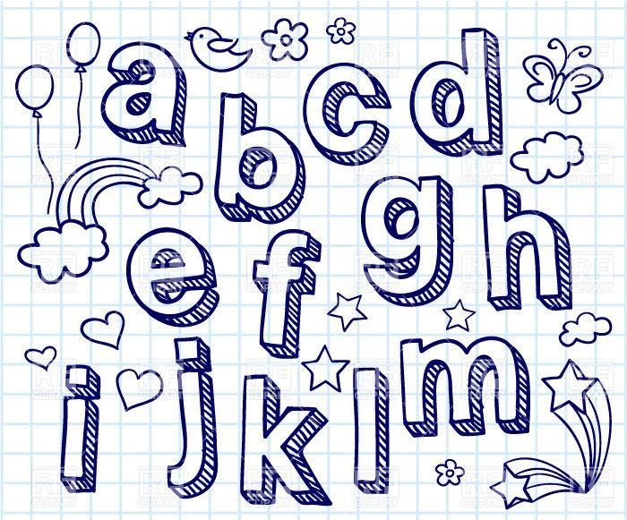 Drawn typeface block Letters Pinterest Design Best 30138