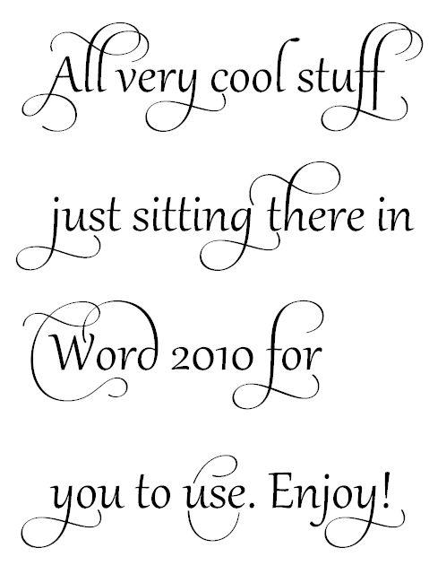 Calligraphy clipart microsoft word Word Pinterest  25+ ideas