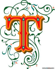 Typeface clipart ornate (aka  Ornate José Vector