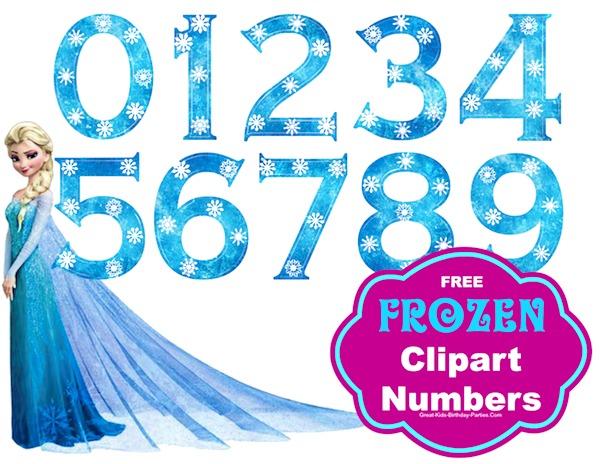 Iiii clipart frozen Frozen  Font