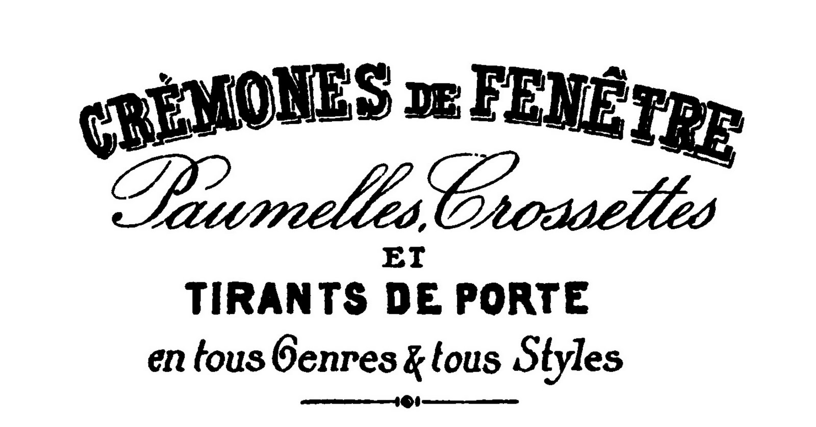 Typography clipart old style Art Art More French Vintage
