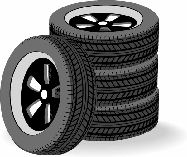 Tires clipart rubber tire Stack for (747 Tires
