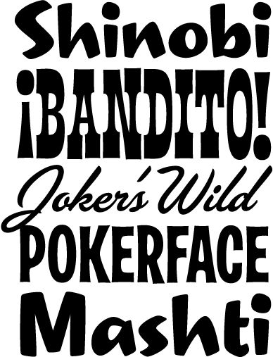 Typeface clipart retro 55 and about Typeface this