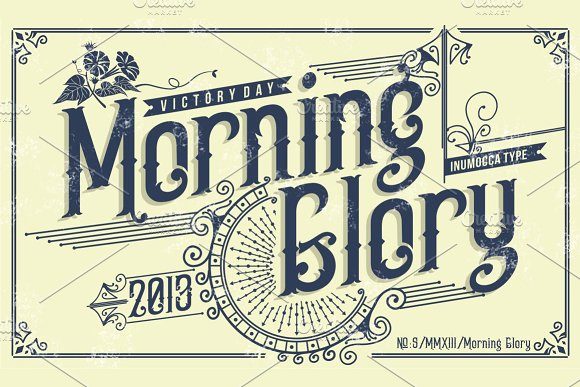 Typeface clipart vintage carnival  Creative Morning for Old