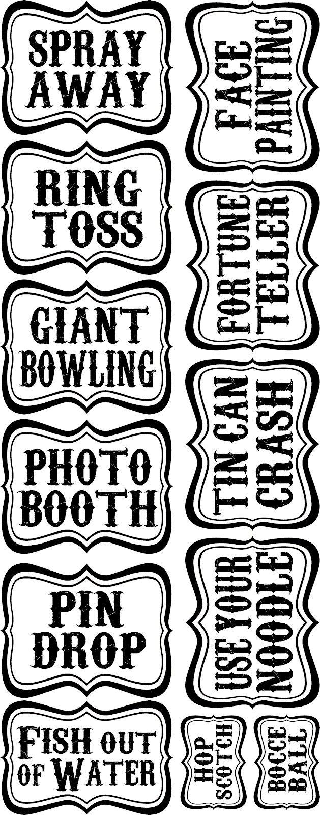 Typeface clipart vintage carnival Pinterest Free Best & Carnival