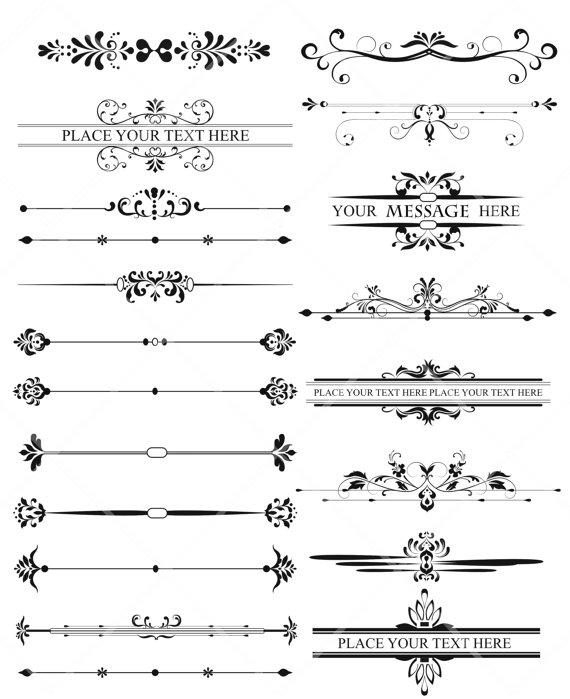 Leaves clipart wedding #5