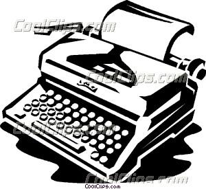 Typewriter clipart Clipart typewriter%20clipart Clipart Panda 20clipart