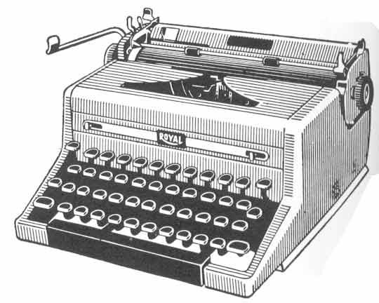 Typewriter clipart Cliparts Typewriter Clip Art Typewriter