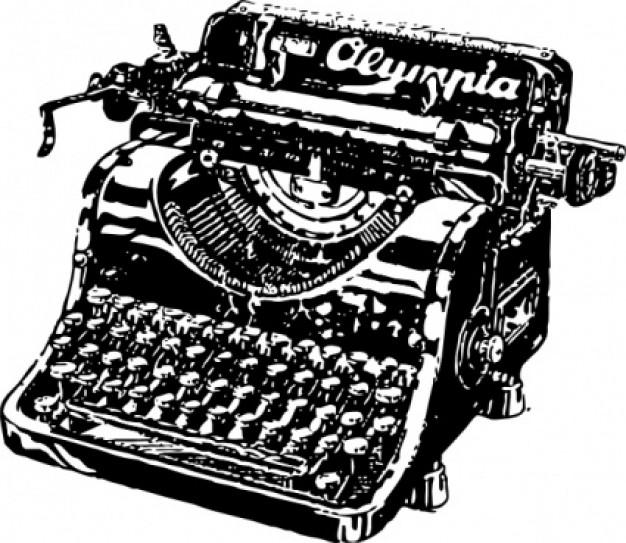 Typewriter clipart old school Tech Writers Tech · M