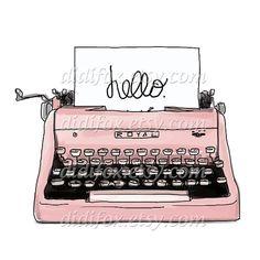 Typewriter clipart old school Typewriter my Recently ( Digital