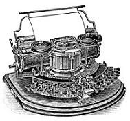 Typewriter clipart old school Free Typewriter typewriter Vintage Clipart